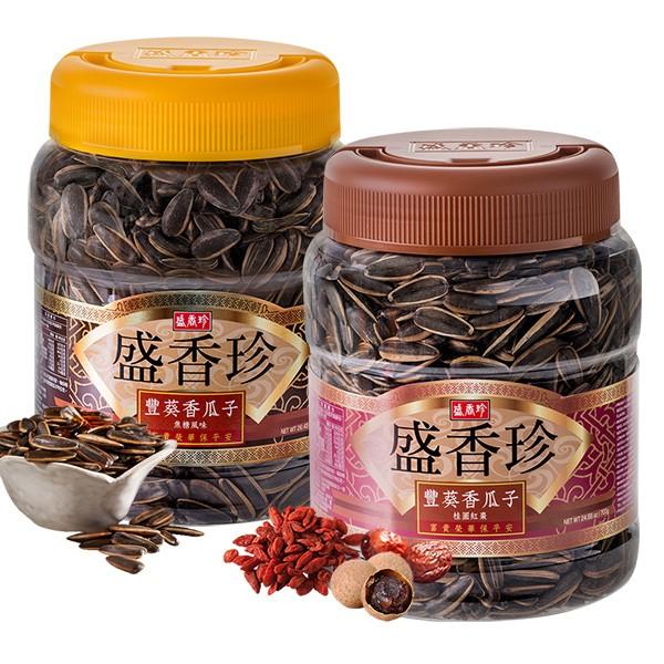 盛香珍 豐葵香瓜子禮桶700g(桶) (焦糖風味/桂圓紅棗風味)