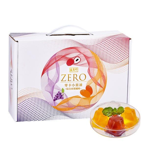 ★年節特選商品★盛香珍 零卡小果凍量販盒-綜合水果風味1500g/盒