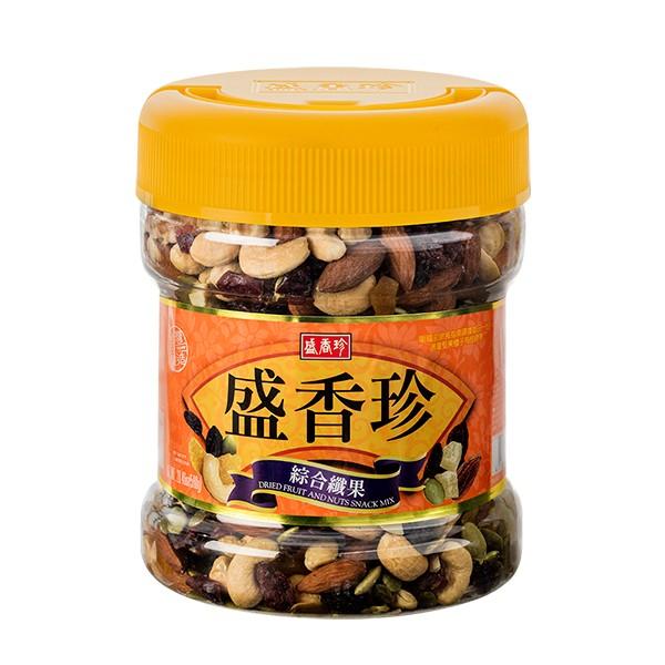 盛香珍 綜合纖果禮桶580g(桶)