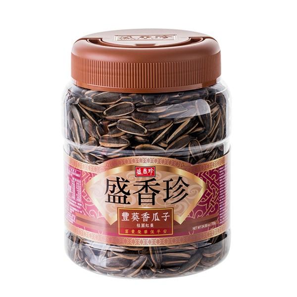 ★年節特選商品★ 盛香珍 豐葵香瓜子-桂圓紅棗禮桶700g