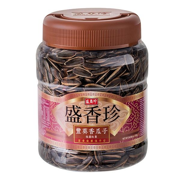 盛香珍 豐葵香瓜子-桂圓紅棗禮桶700g