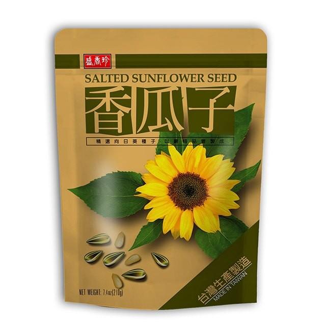 盛香珍 香瓜子-奶香原味210gX10包(箱)