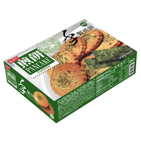 盛香珍 手製海苔煎餅210gX10盒入(箱)