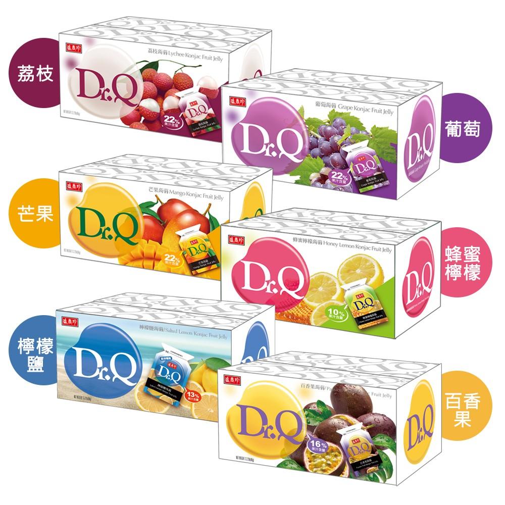 盛香珍 Dr.Q蒟蒻果凍量販箱6kg(箱)(葡萄/荔枝/芒果/蜂蜜檸檬/檸檬鹽/百香果6種口味可選)