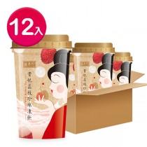 盛香珍 貴妃荔枝珍珠凍飲275gX12杯入(箱)