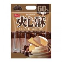 盛香珍 巧克力夾心酥400g系列x5包(箱)