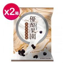 [特惠組] 盛香珍 優酪果園系列-焦糖珍珠風味330gX10包(箱) X2箱