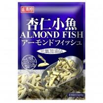 盛香珍 調味堅果系列-杏仁小魚100gx10包(箱)