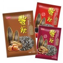 盛香珍 豐葵焦糖香瓜子3kg量販包(焦糖/桂圓紅棗/日月潭紅茶-3種口味可選)