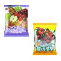 盛香珍 蒟蒻椰果果凍1000gx10包(箱)(綜合/荔枝2種口味可選)