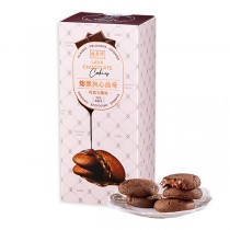 盛香珍 熔漿夾心曲奇-巧克力風味160g/盒 - 抽屜餅乾盒系列