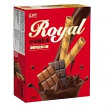 盛香珍 皇家威化捲系列-香濃巧克力140g/盒