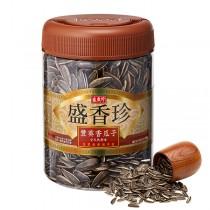 盛香珍 豐葵香瓜子禮桶-全天然原味450g/桶