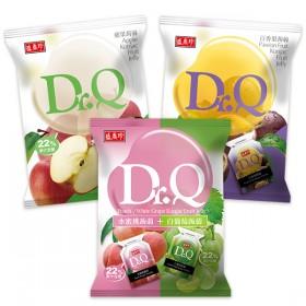 盛香珍 Dr.Q蒟蒻果凍420g系列x5包入(蘋果/百香果/雙味(水蜜桃+白葡萄) 共3種口味可選)